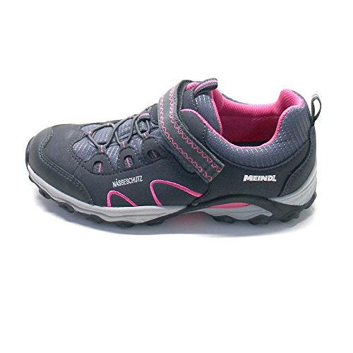 Meindl, Chaussures montantes pour Fille Grau (pink/anthrazit)