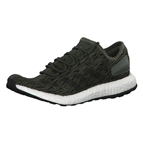 adidas Herren Laufschuhe Pureboost Base Green/core Black/core Black 43 1/3