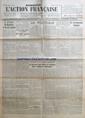 ACTION FRANCAISE (L') [No 218] du 06...