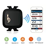 TAOPE Bluetooth mit ANT+ Geschwindigkeits und Trittfrequenzsensor Trainingsunterstützung Fahrrad schnelle und einfache Montage