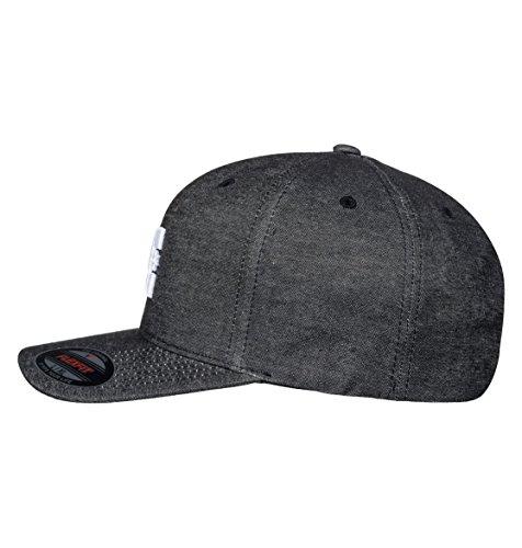 Imagen de dc shoes capstar tx flexfit cap, hombre, anthracite solid, s/m alternativa