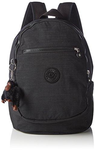 Kipling Damen Clas Challenger Rucksackhandtaschen, 26x36x21 cm Schwarz (H53 Dazz Black)
