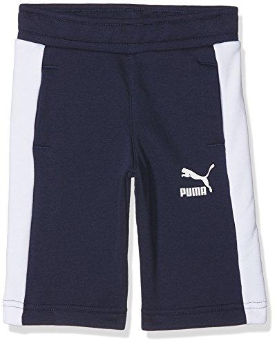 Puma classic, pantaloncino unisex bambini, blu, l