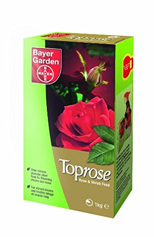 Bayer Garden Toprose Rose and Shrub Food, 1 kg