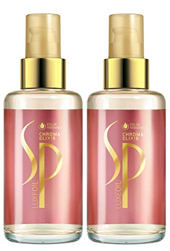 Wella 2x SP System Professional Luxe Oil Chroma Elixir 100 Ml