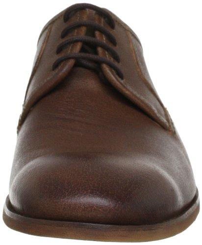 Clarks Euston Walk 2035 Herren Schnürhalbschuhe Braun (Brown Leather)