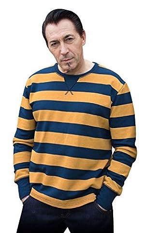 Rumble59 - Sweat-shirt - Homme bleu bleu/jaune - bleu - Xx-large