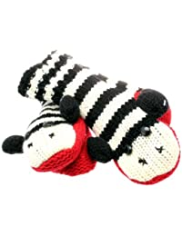 Stripey Monkey Style Animal Mittens