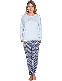 Italian Fashion IF Femme Ensemble de Pyjama Marina 0223