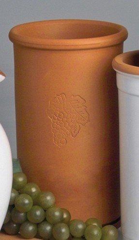 Van Well Terra Toscana Flaschen-Kühler Cantina für Wasser, Wein & Sekt Ø 10 cm, H 18 cm - 1 Stück
