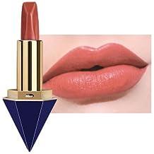 outflower brillo de los labios labio amarga mate impermeable Ne Pas Se Borrar Ne Pas pegar la taza color del metal bronce brillo de los labios