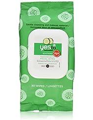 Yes to Cucumbers 30 Serviettes Nettoyantes - Lot de 2