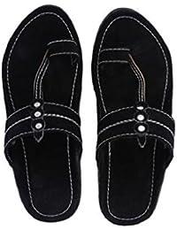 1bcb6c5f39a6 Amazon.in  Black - Ethnic Footwear   Men s Shoes  Shoes   Handbags