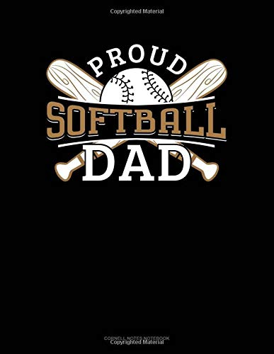 Proud Softball Dad: Cornell Notes Notebook por Jeryx Publishing