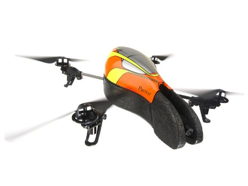 Parrot AR.Drone - Quadrocopter für iPhone/iPad/iPod touch, gelb