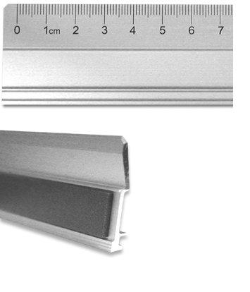 FTM Aluminiumlineal Alu 70cm Metall Lineal zum genauen Messen, für Cutter geeignet (Lineal, Cutter)