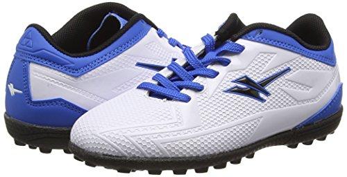 Gola Boys Rapid VX Football Boots  White  White Blue  12 Child UK 31 EU