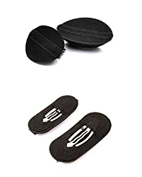 Homeoculture set of 2 princess hair puff volumizer Puff Maker Party Hairdos Women hair clip Hair Style Maker