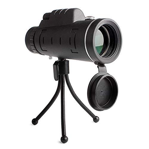 Uokoki Telescopio monocular 40x60 HD Dual Focus Óptica