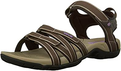 Teva Tirra W's 9034, Damen Sport- & Outdoor Sandalen, Braun (chocolate chip 458), EU 36 (UK 4) (US 5)