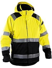 Blakläder 498719873399X XL Größe 2X Große Hohe Sichtbarkeit Jacke–gelb/schwarz