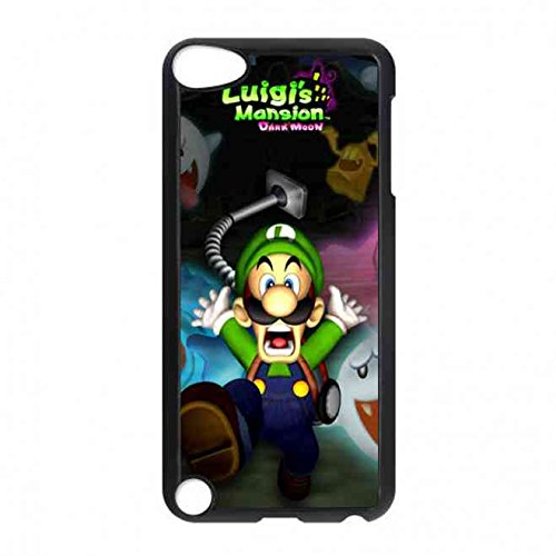 le,Mario Videospielserie Luigi's Mansion: Dark Moon Hülle Schützend für Ipod Touch 5th (Mario Ausschnitte)