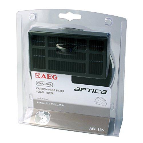 AEG AEF 136 Filter-Set (1 Hepafilter/1 Motorfilter) für AEG Aptica,ATT 79, Vampyr T10E