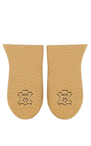 KAPS Einlegesohlen 'Topmed' Fersenpolster - Fersenkeile zur Beinverlängerung, Fersenkissen zum Ausgleich verschiedener Beinlängen, Gr. 15 mm/L (Breite)