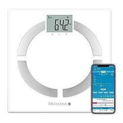 Medisana BS444 Körperanalysewaage 40444 mit App, zur Körperanalyse, bis 180 kg