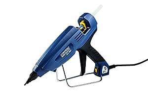 Rapid, 5000018, Pistolet à colle Pro-Industriel Thermofusible400W, Pour un collage professionnel, Bâton de colle Ø12mm, PRO, EG380