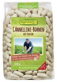 Rapunzel Weiße Bio Cannellini Bohnen, 4er Pack (4 x 250g)*