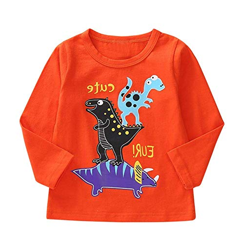 8a69c922ef6d Coogel Cute Animal Spring Warm Long Sleeve T-Shirt Casual Kids Cotton Boys  Tops (