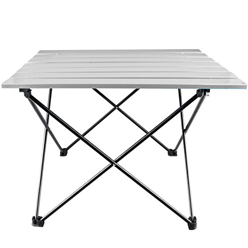 ZENUTA Mesa Plegable Mesa de Aleación de Aluminio portátil para ...