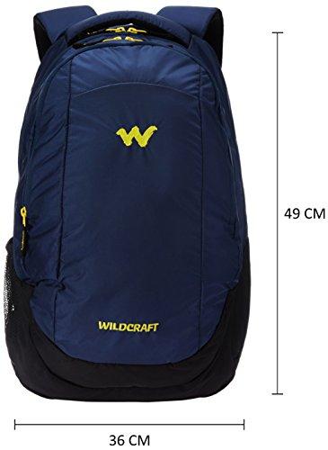 Wildcraft Turnaround Polyester 27 Ltrs Blue Laptop Bag (8903340000000) Image 2