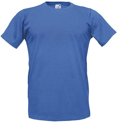 Fitted Valueweight T | Figurbetontes T-Shirt Royal