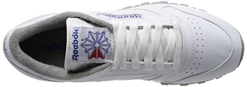 Reebok, Sneaker Uomo Blanco / Gris / Arena / Real / Rojo Blanco Gris