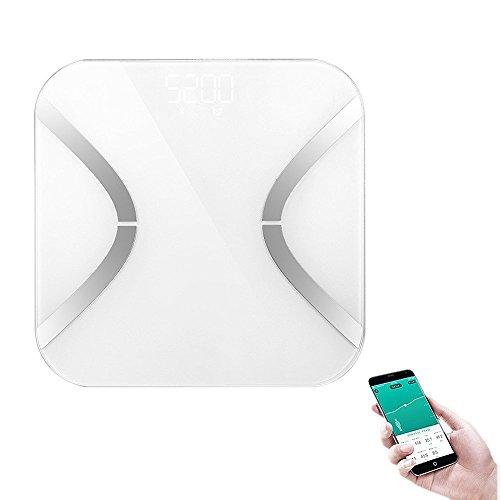 Smart Personenwagge, Stoga Digital Body Fat Analyzer Bad Skala Syncyour Gewicht Daten mit dem Telefon