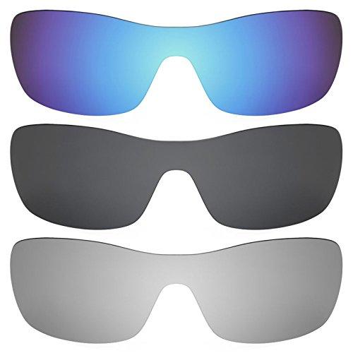 Revant Ersatzlinsen für Oakley Antix Polarisiert 3 Paar Kombipack K015
