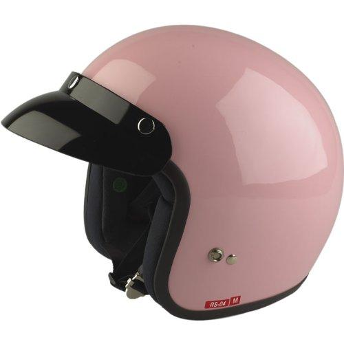 Viper Rs-04casco de moto Rosa rosa Talla:53-54 cm (XS)
