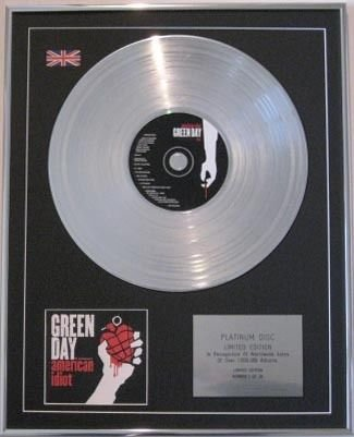 green-day-cd-platinum-disc-american-idiot