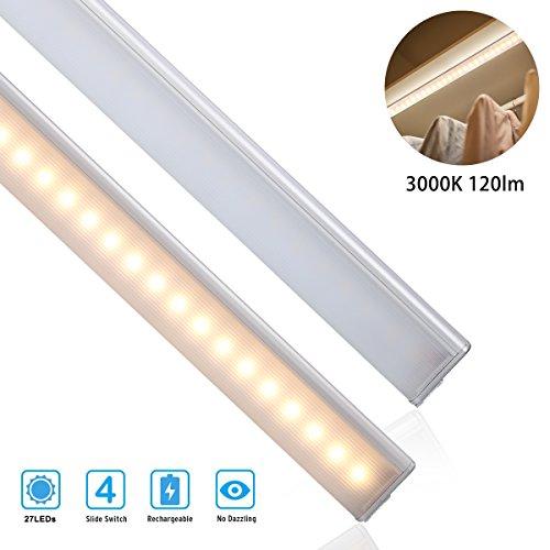 S/s Küche (S&G 27 LED Schranklicht Unterbauleuchte küche USB-Aufladung 120lm 3000k (sensed))