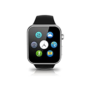 JOKIN Waterproof Bluetooth Smartwatch Compatible with all 4G, 3G Android and iOS phones Silver Colour