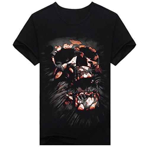 Aivtalk Herren T-Shirt - Crâne
