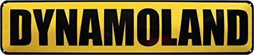 DYNAMOLAND SACHSEN FUSSBALL FUSSBALLFANS 46 x 10 cm BLECHSCHILD STRASSENSCHILD STR188 -