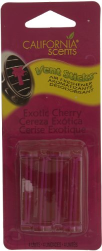 California Scents TSVS607 Vent Stick Air Freshener - Exotic Cherry