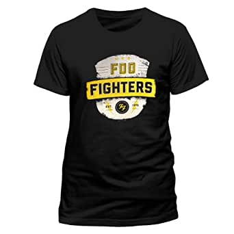 Foo Fighters Est 1995 Official Unisex T-Shirt (Black) Small