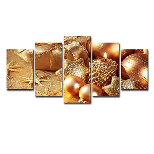 QYY Malen nach Zahlen für Erwachsene und Kinder DIY Ölgemälde Geschenk-Kits Vorgedruckte Leinwand Kunst Home Decoration - Candle Layout,25x38cm*225x50cm*225x63cm*1 -