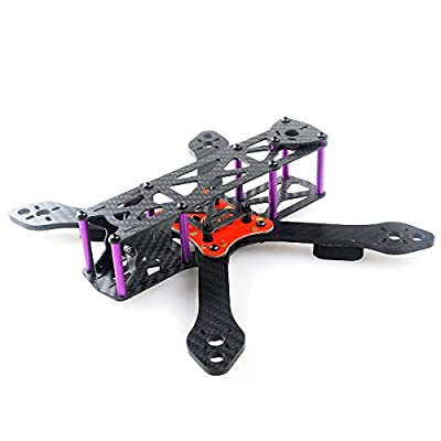 DroneAcc Martian II RX220 FPV Racing Drone Carbon Fiber Quadcopter Frame like QAV210 etc (4MM)