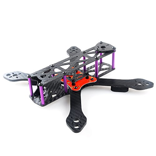 DroneAcc Martian II RX220 FPV Racing Drone Carbon Sod off out Quadcopter Rahmen wie QAV210 etc (4MM)