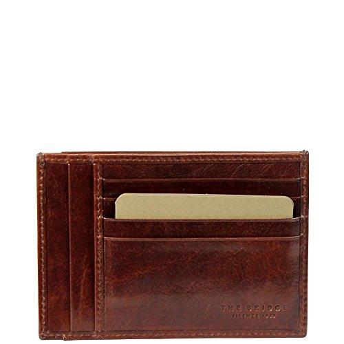 The Bridge Porta carte di credito 01205101-14 Marrone